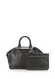 ALEXANDER WANG EMILE DOCTOR SATCHEL IN BLACK WITH RHODIUM TOTE/DEL Adult 8_n_e