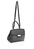 ALEXANDER WANG LARGE MARION SLING IN BLACK WITH EYELETS AND RHODIUM  Shoulder bag Adult 8_n_d