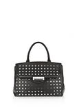 ALEXANDER WANG LARGE MARION SLING IN BLACK WITH EYELETS AND RHODIUM  Shoulder bag Adult 8_n_f