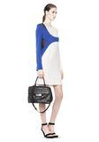 ALEXANDER WANG LARGE MARION SLING IN BLACK WITH EYELETS AND RHODIUM  Shoulder bag Adult 8_n_r