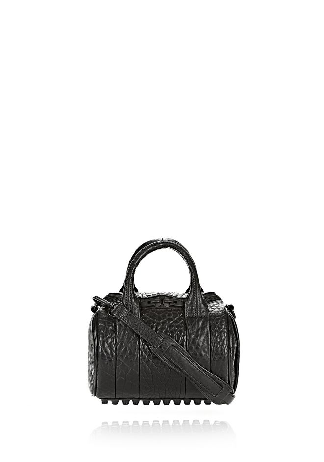 Clutch Bag On Sale, Black, Leather, 2017, one size Alexander Wang