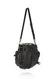 ALEXANDER WANG MINI MARTI IN BLACK WITH MATTE BLACK BACKPACK Adult 8_n_a