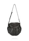 ALEXANDER WANG MINI MARTI IN BLACK WITH MATTE BLACK BACKPACK Adult 8_n_d