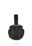 ALEXANDER WANG MINI MARTI IN BLACK WITH MATTE BLACK BACKPACK Adult 8_n_f