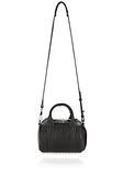 ALEXANDER WANG MINI ROCKIE IN PEBBLED BLACK WITH RHODIUM   Shoulder bag Adult 8_n_d