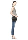 ALEXANDER WANG MINI ROCKIE IN PEBBLED BLACK WITH RHODIUM   Shoulder bag Adult 8_n_r