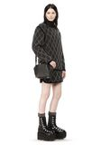 ALEXANDER WANG MINI EMILE IN PEBBLED BLACK WITH RHODIUM Shoulder bag Adult 8_n_r