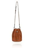 ALEXANDER WANG ALPHA BUCKET IN TIMBER WITH RHODIUM Shoulder bag Adult 8_n_e