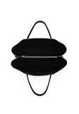ALEXANDER WANG PRISMA LARGE TOTE IN PEBBLED BLACK WITH RHODIUM Shoulder bag Adult 8_n_a