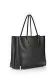 ALEXANDER WANG PRISMA LARGE TOTE IN PEBBLED BLACK WITH RHODIUM Shoulder bag Adult 8_n_e