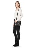 ALEXANDER WANG MARION IN PEBBLED BLACK WITH ROSE GOLD Shoulder bag Adult 8_n_r