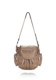 ALEXANDER WANG MINI MARTI IN WASHED LATTE WITH ROSE GOLD BACKPACK Adult 8_n_d