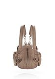 ALEXANDER WANG MINI MARTI IN WASHED LATTE WITH ROSE GOLD BACKPACK Adult 8_n_e