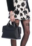 ALEXANDER WANG ROGUE LARGE SATCHEL IN BLACK WITH RHODIUM Shoulder bag Adult 8_n_r