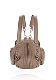 ALEXANDER WANG MARTI IN LATTE WITH ROSE GOLD BACKPACK Adult 8_n_e