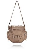 ALEXANDER WANG MARTI IN LATTE WITH ROSE GOLD BACKPACK Adult 8_n_r