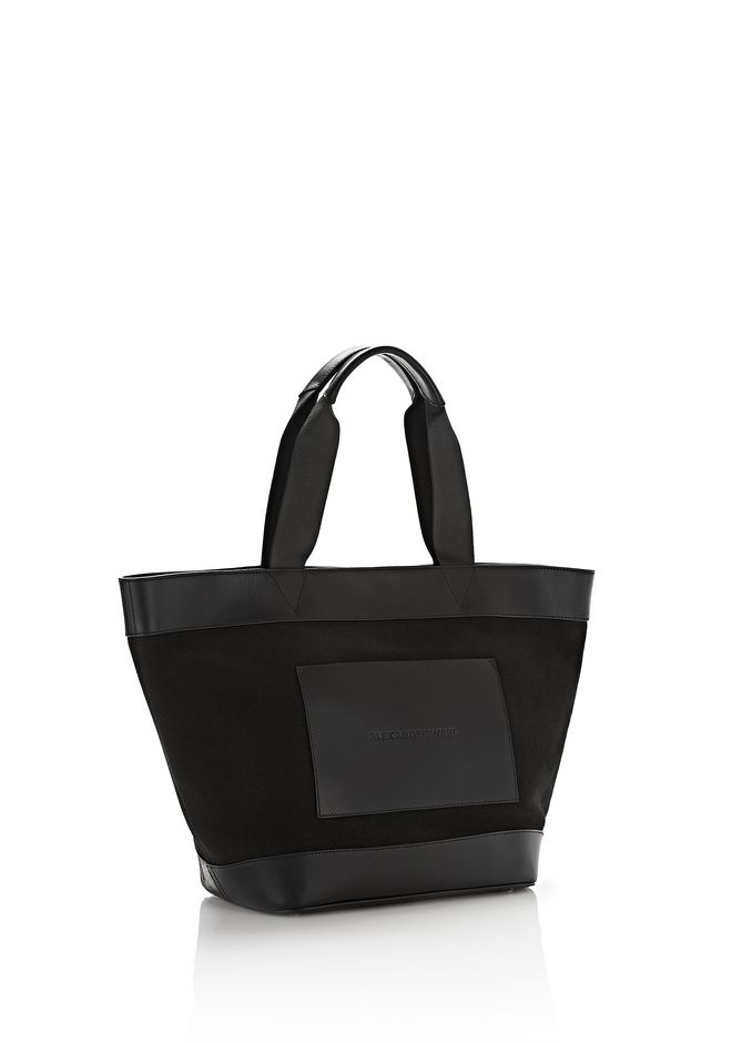 AW Logo oversized tote bag - Black Alexander Wang 7ZRFY2Nx