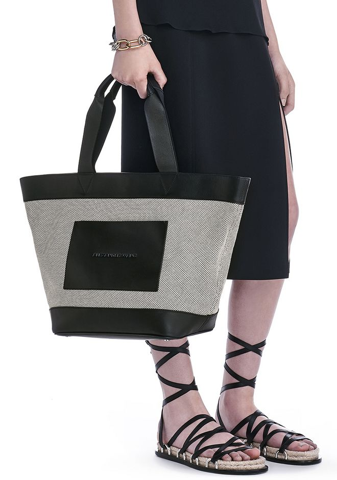 Alexander Wang canvas tote Cut-Price Clearance Latest Sunshine Cheap Price Original Huge Surprise Cheap Price l84b3o1