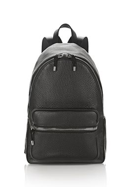 BERKELEY BACKPACK IN SOFT PEBBLED BLACK WITH RHODIUM