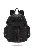 ALEXANDER WANG MARTI BACKPACK IN BLACK NYLON WITH CIGARETTE EMBRIODERY  BACKPACK Adult 8_n_f