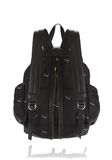 ALEXANDER WANG MARTI BACKPACK IN BLACK NYLON WITH CIGARETTE EMBRIODERY  BACKPACK Adult 8_n_r