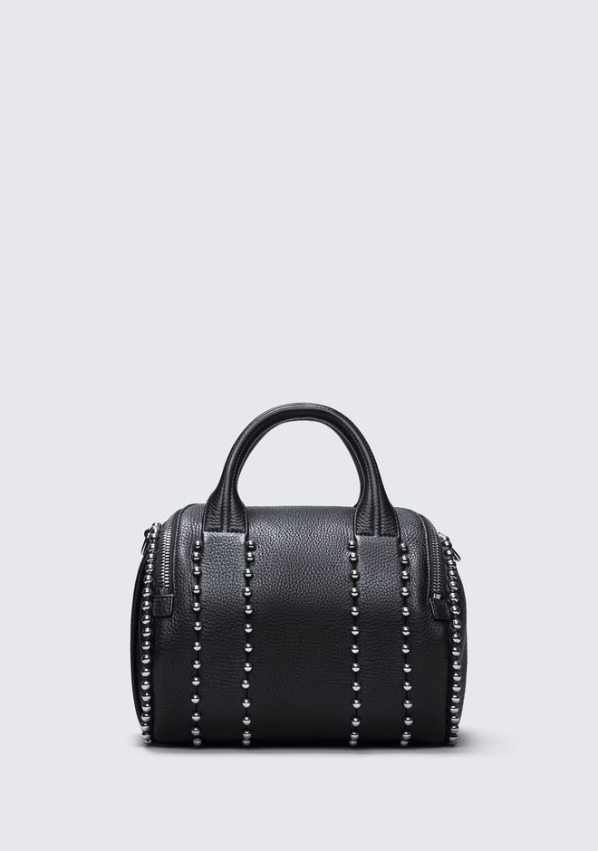ALEXANDER WANG BALL STUD ROCKIE IN MATTE BLACK WITH RHODIUM  Shoulder bag Adult 12_n_d