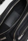 ALEXANDER WANG ATTICA FANNY PACK IN WASHED BLACK WITH RHODIUM Shoulder bag Adult 8_n_a