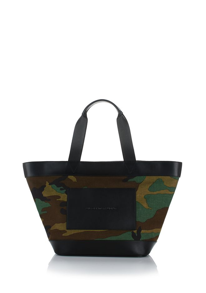 Alexander Wang Camouflage canvas tote bag