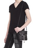 ALEXANDER WANG ATTICA CHAIN MINI SATCHEL IN BLACK WITH RHODIUM Shoulder bag Adult 8_n_r