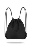 ALEXANDER WANG WALLIE GYMSACK IN BLACK NYLON WITH CAR PRINT BACKPACK Adult 8_n_d