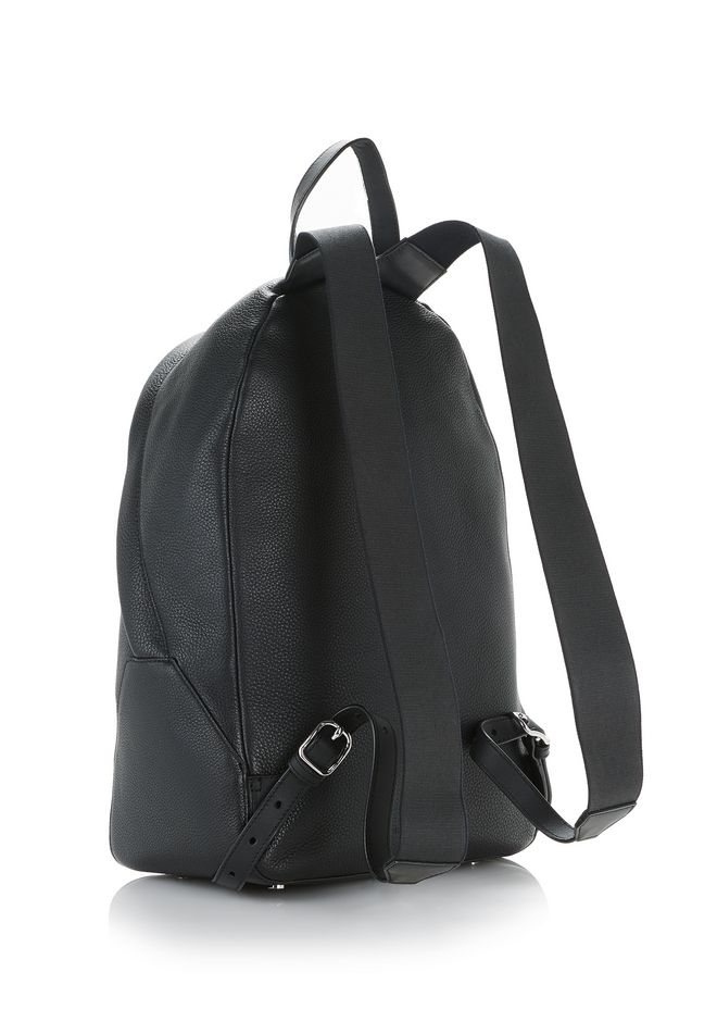 ALEXANDER WANG BERKELEY BACKPACK IN PEBBLED BLACK WITH RHODIUM  BACKPACK Adult 12_n_a