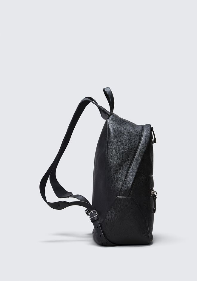 ALEXANDER WANG BERKELEY BACKPACK IN PEBBLED BLACK WITH RHODIUM  BACKPACK Adult 12_n_d