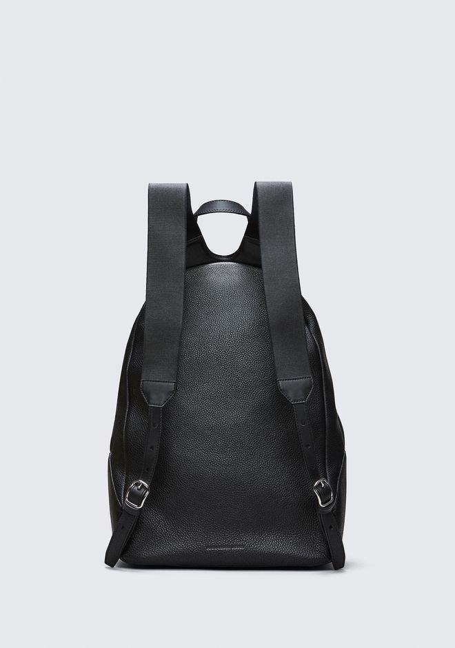 ALEXANDER WANG BERKELEY BACKPACK IN PEBBLED BLACK WITH RHODIUM  BACKPACK Adult 12_n_e