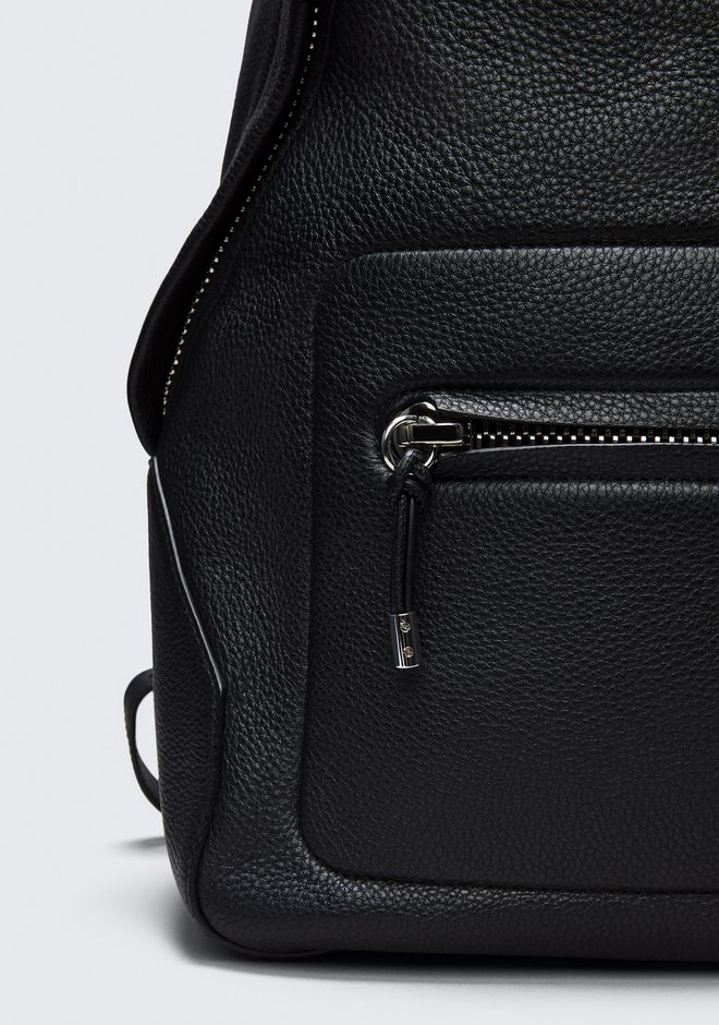 ALEXANDER WANG BERKELEY BACKPACK IN PEBBLED BLACK WITH RHODIUM  BACKPACK Adult 12_n_r