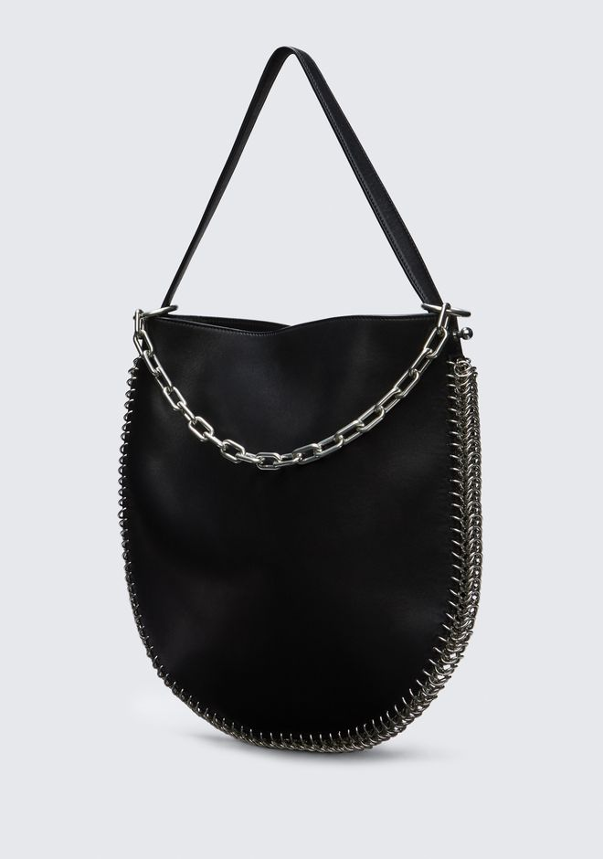 ALEXANDER WANG ROXY HOBO IN BLACK WITH BOX CHAIN Shoulder bag Adult 12_n_e