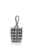 ALEXANDER WANG DOME STUD ROXY MINI BUCKET BAG IN SUEDE MINK  CLUTCH Adult 8_n_d