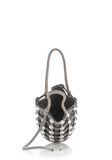 ALEXANDER WANG DOME STUD ROXY MINI BUCKET BAG IN SUEDE MINK  CLUTCH Adult 8_n_e