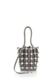 ALEXANDER WANG DOME STUD ROXY MINI BUCKET BAG IN SUEDE MINK  CLUTCH Adult 8_n_r