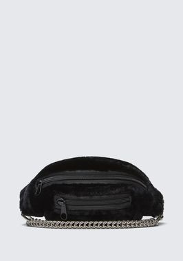 SHEARLING PRIMARY FANNY PACK WITH BOXCHAIN STRAP