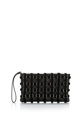ROXY CAGE POUCH IN BLACK VELVET