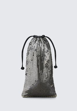 RYAN DUST BAG IN SILVER STUD RHINESTONE