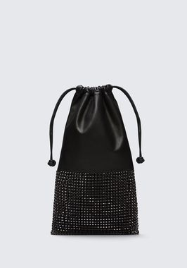 RYAN DUSTBAG IN BLACK RHINESTONE