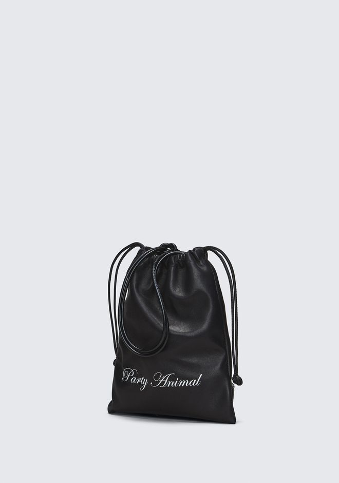 ALEXANDER WANG PARTY ANIMAL MINI RYAN DUSTBAG  CLUTCH Adult 12_n_a