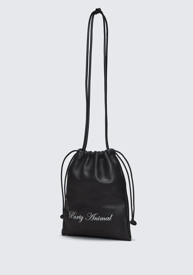ALEXANDER WANG PARTY ANIMAL MINI RYAN DUSTBAG  CLUTCH Adult 12_n_e