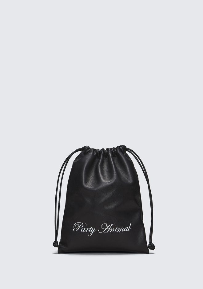 ALEXANDER WANG PARTY ANIMAL MINI RYAN DUSTBAG  CLUTCH Adult 12_n_f
