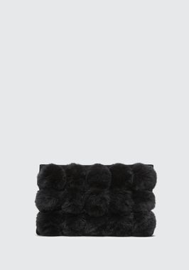 ROXY FUR CAGE POUCH