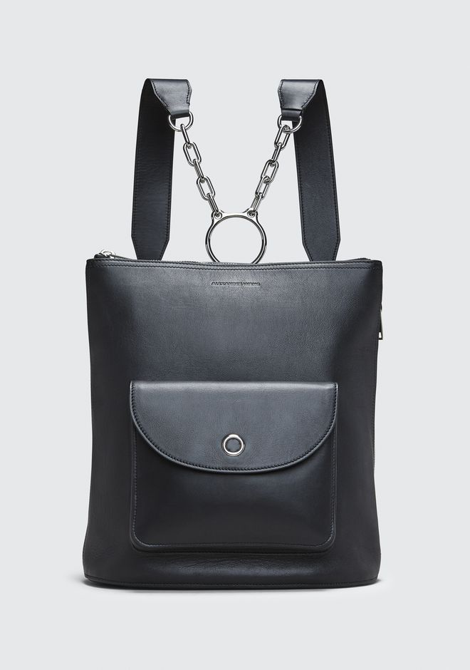 ALEXANDER WANG SACS À DOS Femme BLACK ACE BACKPACK
