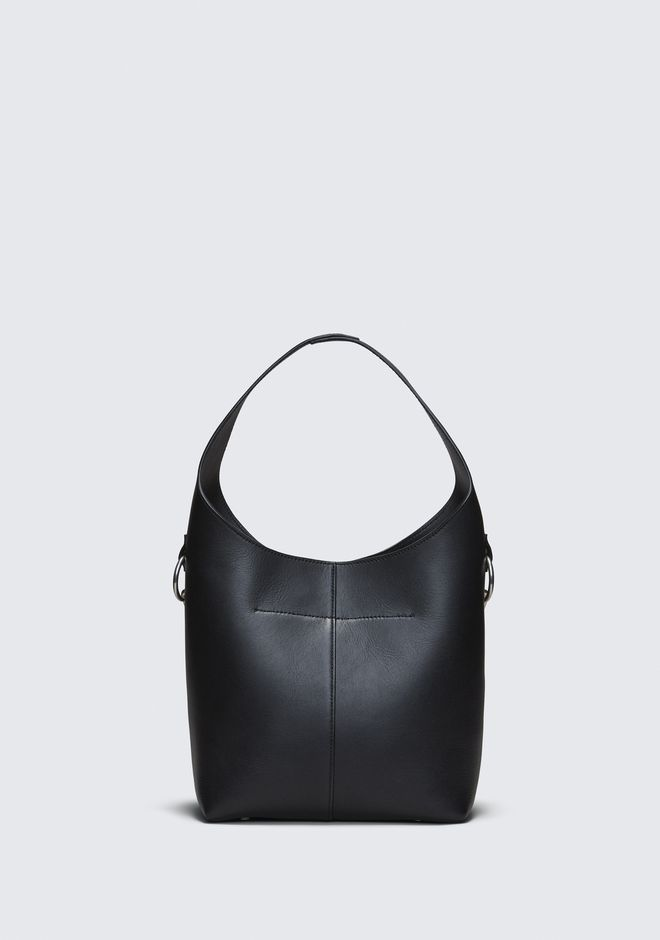 ALEXANDER WANG BLACK GENESIS MINI HOBO 숄더 백 Adult 12_n_d