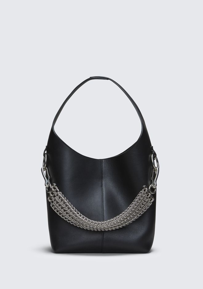 ALEXANDER WANG BLACK GENESIS MINI HOBO 숄더 백 Adult 12_n_f