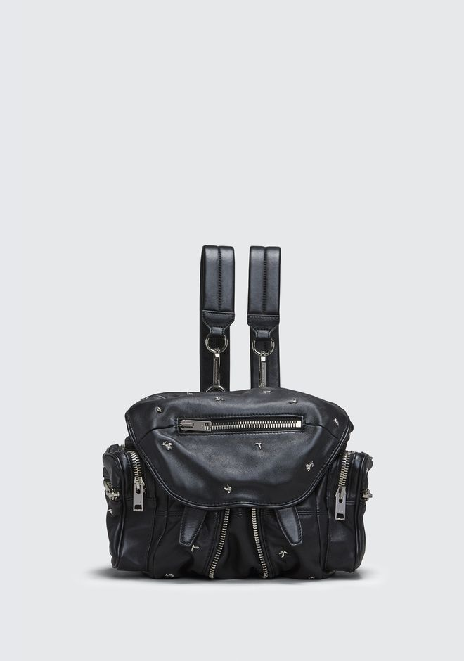 ALEXANDER WANG BACKPACKS ROSE STUDDED MINI MARTI BACKPACK